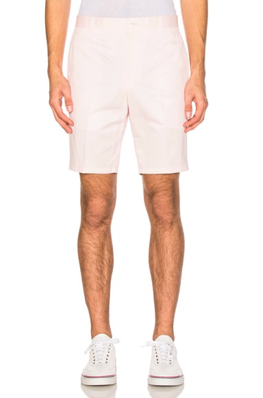 Thom Browne Lightweight Twill Shorts in Light Pink