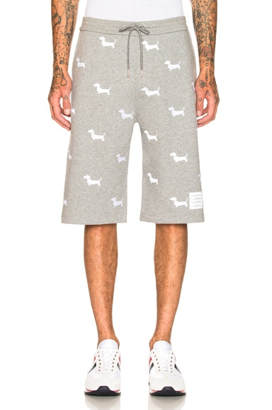 Hector Embroidered Classic Sweat Shorts