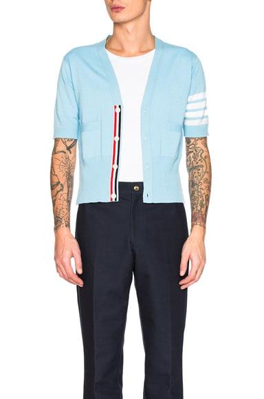 Cashmere Short Sleeve Cardigan