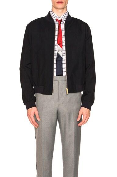 Plain Weave Ribbed Jacket