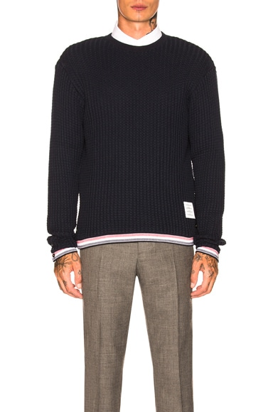 Chunky Crewneck Pullover
