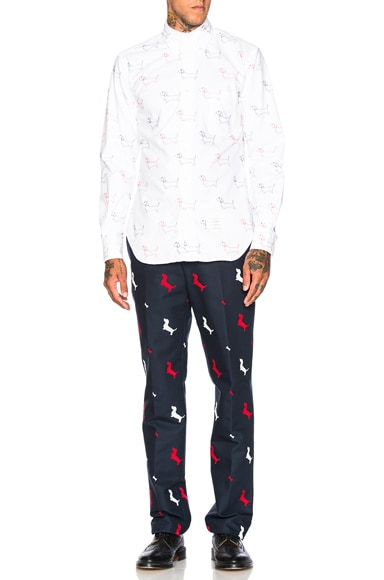 Hector & Bone Embroidery Trousers