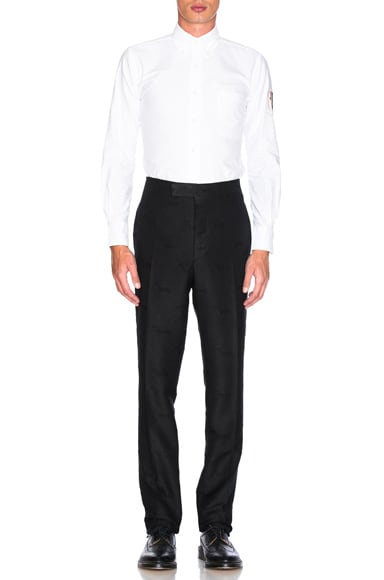 Hector Stamp Jacquard Trousers