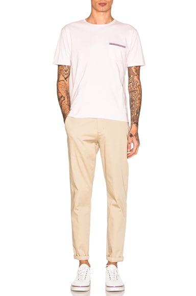Jersey Cotton Short Sleeve Pocket Tee
