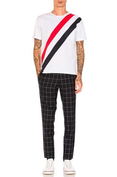 Diagonal Stripes Tee