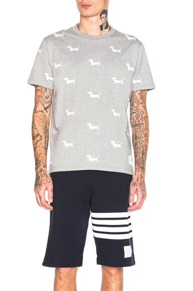 Embroidered Hector Tee