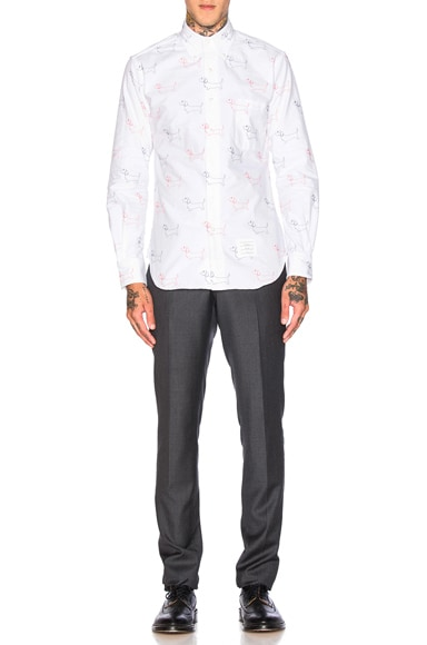 Hector Embroidery Oxford Shirt