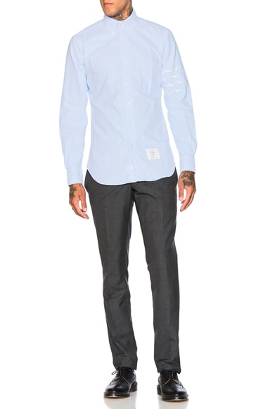 Hector & Bone Embroidered Oxford Shirt