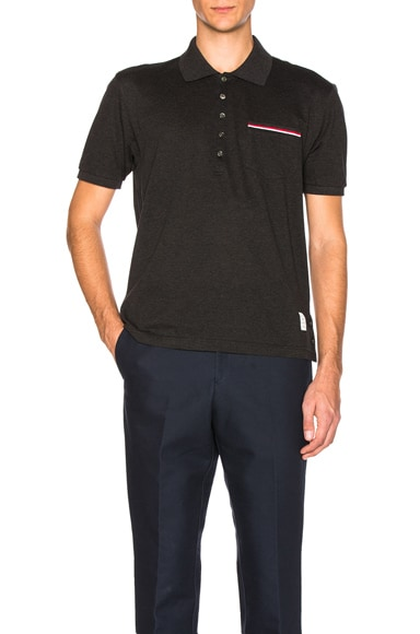 Fine Mercerized Pique Polo