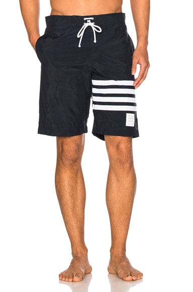 Thom Browne Board Shorts in Navy