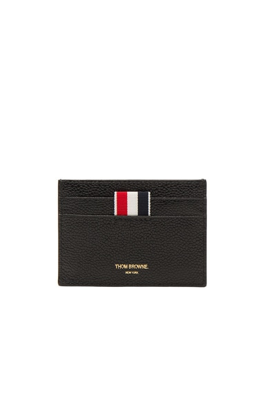 Thom Browne Cardholder in Black