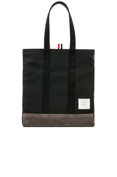 Suede Unstructured Tote