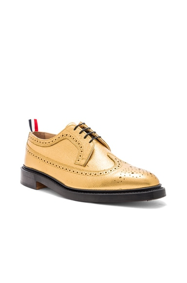 Classic Pebble Grain Longwing Brogue