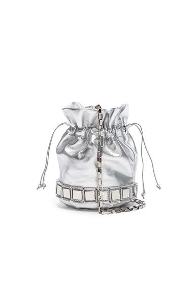 Tomasini Lucile Bag in Silver & Silver