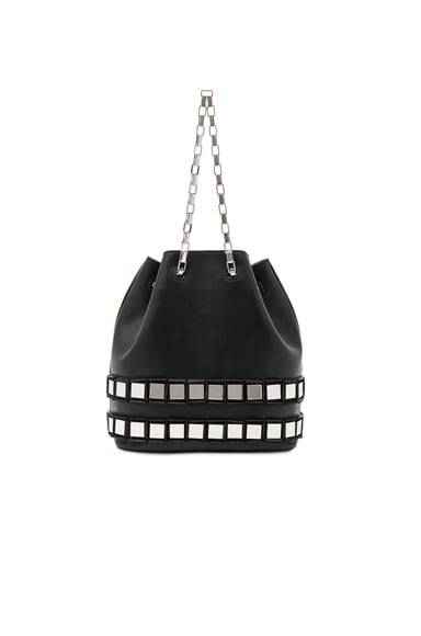 Tomasini Rosie Bag in Black & Silver