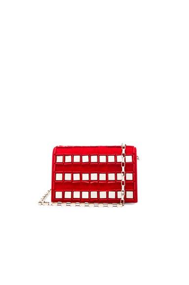 Tomasini Ross Bag in Red & Light Gold