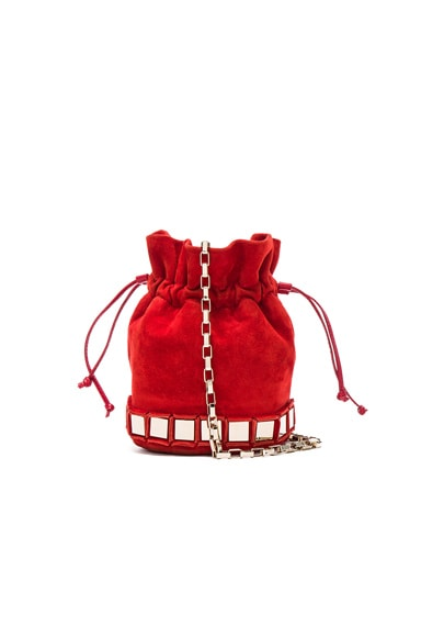 Tomasini Lucile Bag in Red & Light Gold