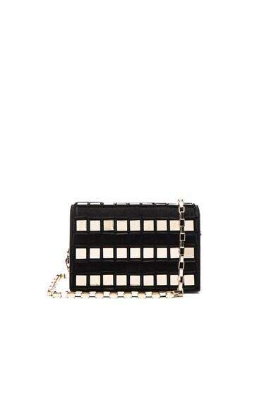 Tomasini Ross Bag in Black & Light Gold