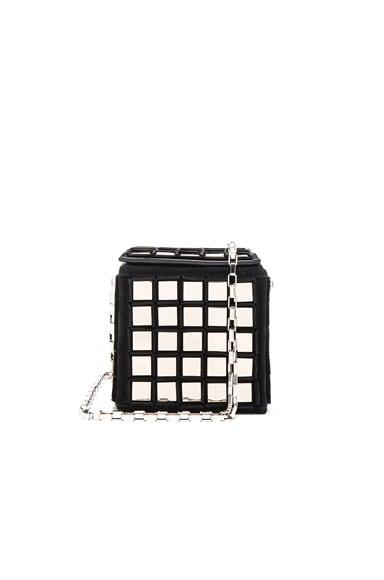 Tomasini Stanley Bag in Black & Silver