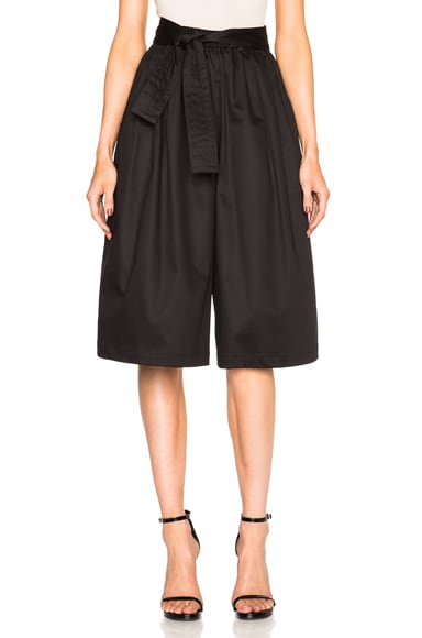 Tome Cropped Karate Pants in Black