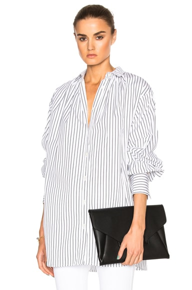 Oversized Gather Shirt