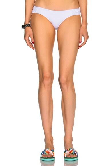 Tori Praver Swimwear Daisy Bikini Bottom in Cloud