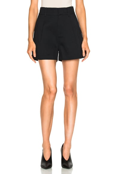 Toteme Durum Short in Black