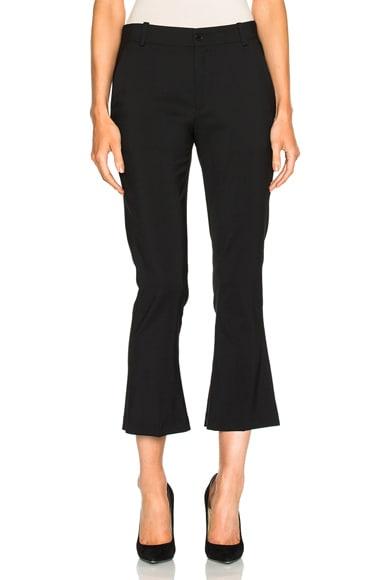 Toteme Vichy Crop Pant in Black