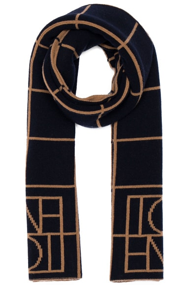 Toteme Gouvy Scarf in Brown