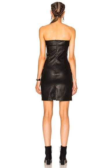 Rita Leather Dress