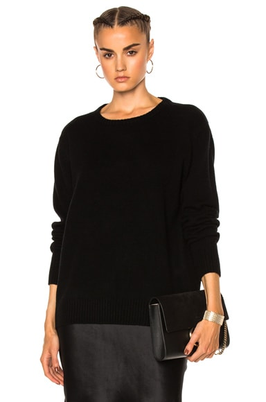 ThePerfext Ali Pullover Sweater in Black