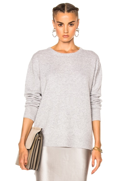 ThePerfext Ali Pullover Sweater in Foggy