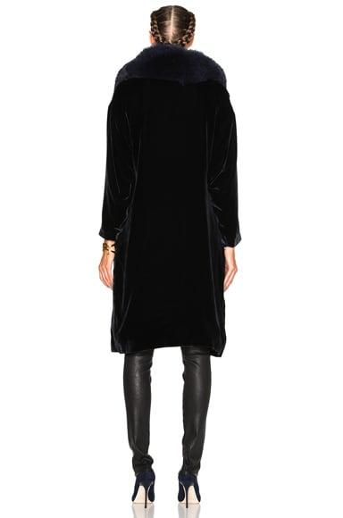 Penelope Fur & Velvet Jacket
