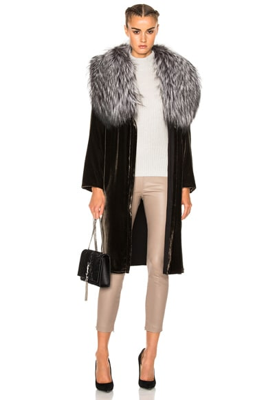 ThePerfext Penelope Coat in Mink
