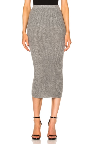 ThePerfext FWRD Exclusive Victoria Skirt in Gray