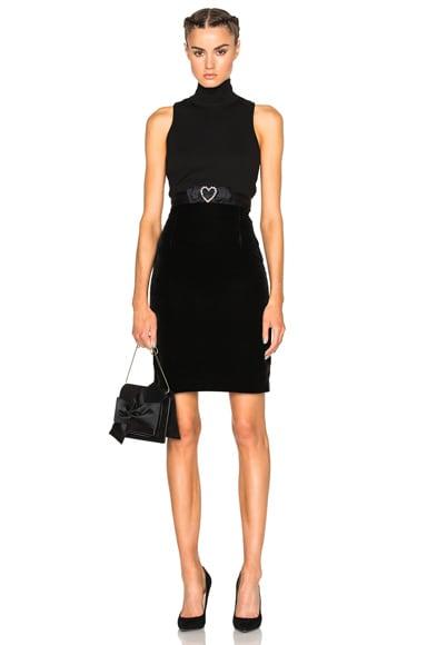 Amsterdam Velvet Skirt
