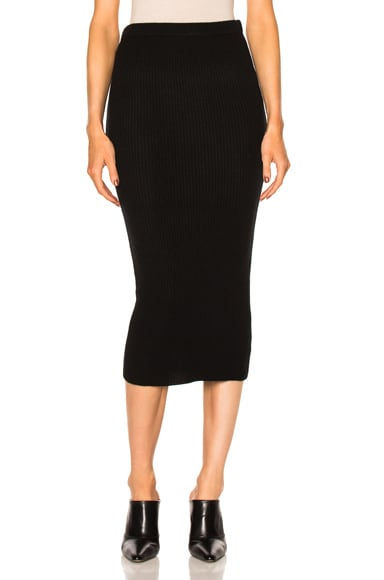 ThePerfext Victoria Skirt in Black