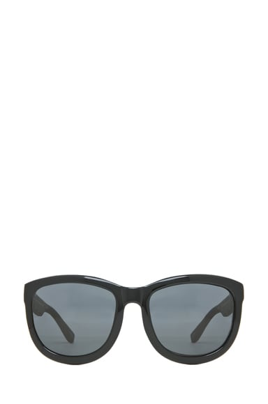Temple Design D-Frame Sunglasses