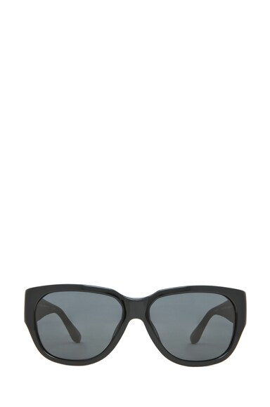 Rectangular D-Frame Sunglasses
