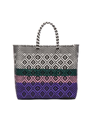 Truss Medium Sunset Tote in Purple