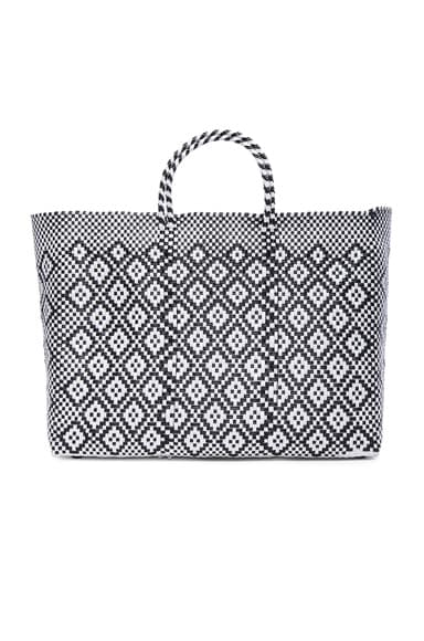 Truss Large Sunset Tote in Black & White