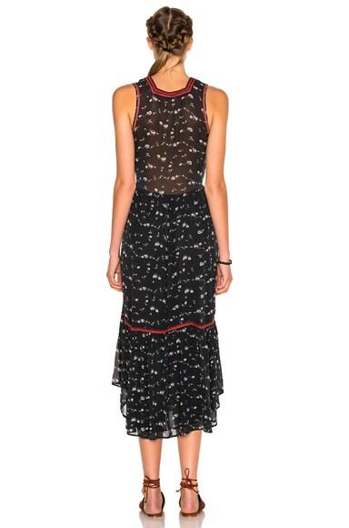 Leena Floral Georgette Dress