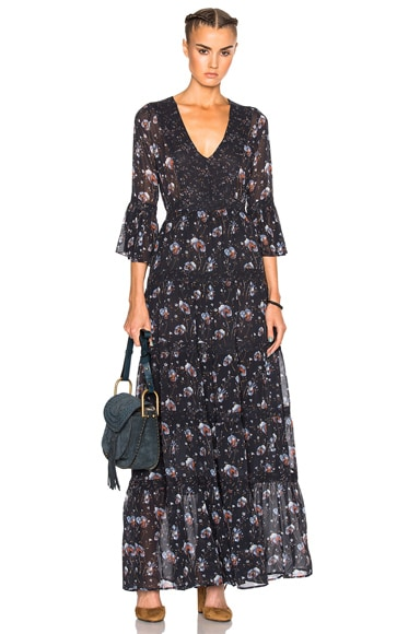 Ulla Johnson Aurora Dress in Midnight