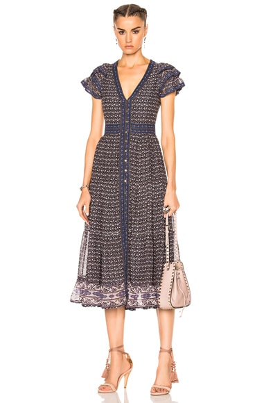Ulla Johnson Ambra Dress in Moonlight