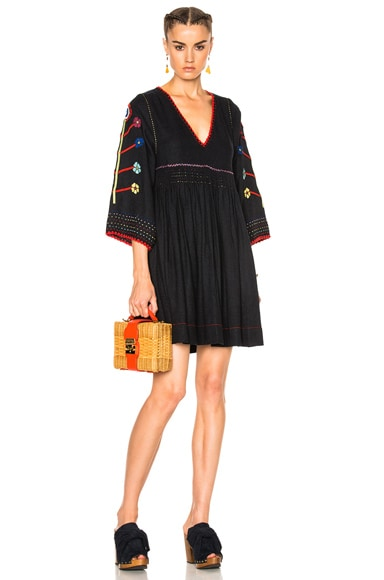 Ulla Johnson Masha Dress in Midnight