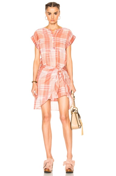 Ulla Johnson Theo Dress in Rose