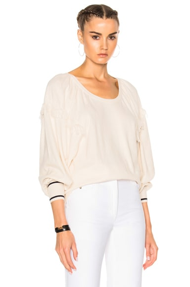 Ulla Johnson Cece Sweater in Chalk