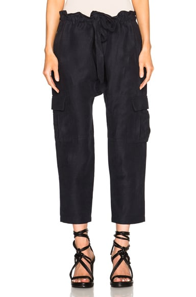 Ulla Johnson Army Pants in Midnight