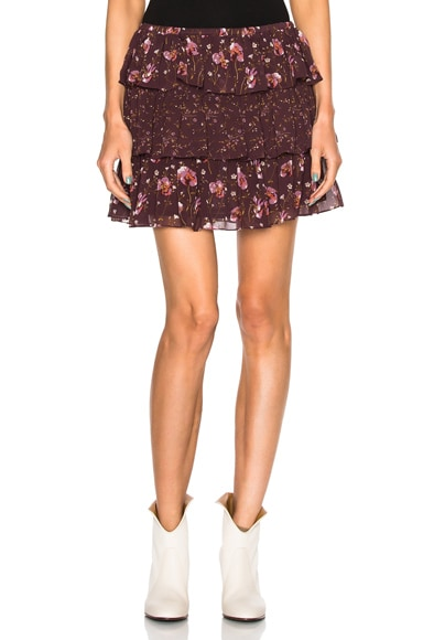 Ulla Johnson Orion Skirt in Plum