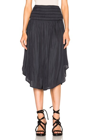 Ulla Johnson Iola Skirt in Midnight